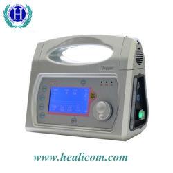 Hv-100d Apparaten van de Ademhaling van de Machine van het Ventilator van de Noodsituatie van het vervoer de Draagbare