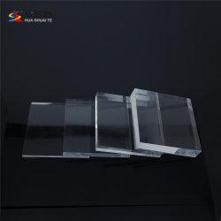 Huashuaite exprimés en plastique transparent Perspex Pelxigalss feuille acrylique