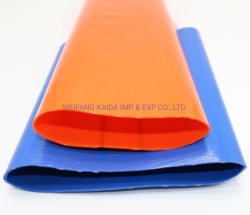 Высокое качество пластика мягкие трубы/ ПВХ шланг Layflat орошения