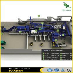 Rdf soluciones de gestión de residuos y reciclaje de clasificación de residuos urbanos para el tratamiento de residuos/planta de biogás/ Waste to Energy /Separación de basura a la venta