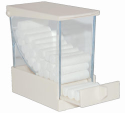 China médico dental dispensador rollos de algodón de plástico