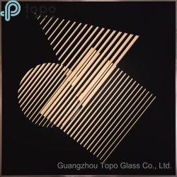 La trempe Abstract Wall Hanging Glas-Painting (MR-YB6-2044C)