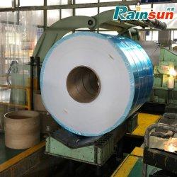 A5052, un5005, un5083, una bobina de aluminio5754 con azul película PE