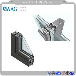 6063 Alliage en aluminium extrudé pour la construction industrielle