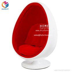 Design moderno salão de tecido de fibra de ovo de giro de Lazer Cadeira de Esferas