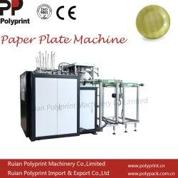 Hydralic automático personalizado Restaurante Bar de aperitivos plato de papel/máquina de hacer el plato con el recuento y apilado