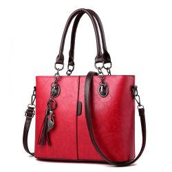 PU кожаный сумки для дам в дизайн