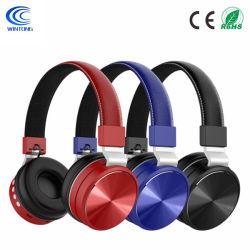 PC/Cell Phones/TVのための柔らかいメモリ蛋白質のイヤーマフが付いている耳のハイファイステレオの無線ヘッドセット上のBluetoothのFoldableヘッドホーン