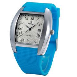 À la mode en alliage personnalisé en PVC de quartz watch Pour matériels promotionnels (JY-SQ031)