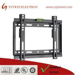 Support de montage mural de télévision pour la plupart des 10-42 pouces LED, TV LCD et Plasma, Mount avec Max 200x200mm VESA et 100 lbs capacité de chargement, bas profil avec bulle (YW-J006S)