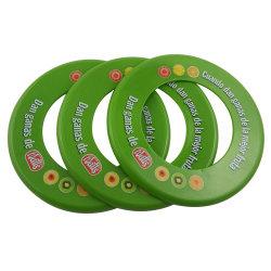 Muestra gratuita de plástico ecológica anillo volador Frisbee Disc para perro