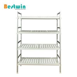 El aluminio medio deber cocina comercial estanterías de almacenamiento