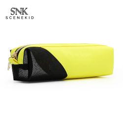 Моды Style кожаные сумки для макияжа с логотипом Custom, BSCI ревизии оптовая портативный салон красоты косметический мешок для поощрения