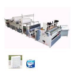 Entièrement automatique du rouleau de papier de toilette de décisions de la machine de tissu