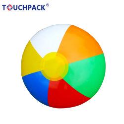 Personalizados promocionales inflables Plástico de PVC Pelota de playa con Logo