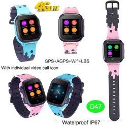 androide Systems-Kind-videoaufruf OS-4G, der intelligentes Uhr-Telefon D47 aufspürt