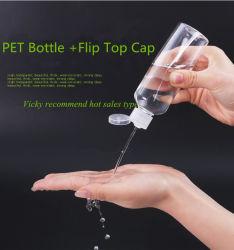 De lege Duidelijke Fles van de Lotion van de Shampoo van de Pomp van het Lichaam van het Huisdier Kosmetische Plastic