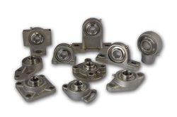 Edelstahl-Kugellager-Geräten-Hochleistungskissen-Blöcke mit konkavem unterem Gehäuse für Chemikalien-, Paket-und Nahrungsmittelmaschinen Ssucfl205