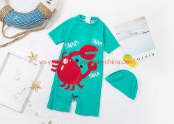 De nouveaux enfants 1PCS Crabe Conception anti-UV haute Soft Kids Maillot de bain