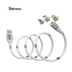 Accessorio mobile 3 di carico veloci universali del caricatore del telefono delle cellule di Tongyinhai in 1 cavo magnetico del USB