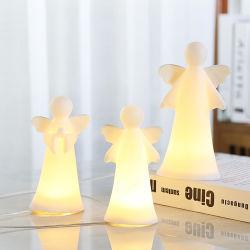 Keramiek bidden Kerstvakantie Bruiloft Partij Porselein Home Decor Decoratie Decoratieve handgeschilderde Stoneware Wings Angel Memorial Statue Figures