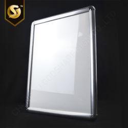 O pôster de LED luz de foto da estrutura de retenção da Caixa de Perfil de extrusão do alumínio