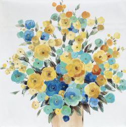 벽화 화려한 꽃 집 제품 자체 제작 유화