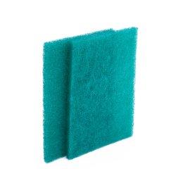 고품질 거친 녹색 닦는 패드 물자를 정리하는 나일론 닦는 패드 부엌