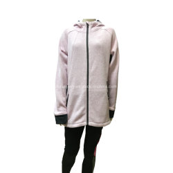 カスタム冬の女性のための屋外の編まれた羊毛のジャケット