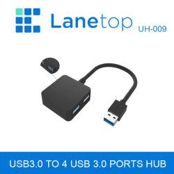 5Gbps USB3.0A Lanetop / macho de 4 puertos USB 3.0 HUB