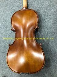 고품질 중국 자체 제작 오래된 바이올린 악기