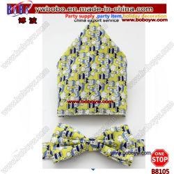 Tirante de poliéster gravata bow tie laços Tecidos de seda Gravata Gravatas logotipo personalizado (B8105)