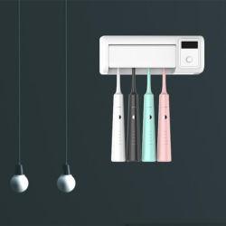 Mikrobe-Badezimmer-Zahnbürste-Speicher-Halter-Zahnstangen-Set des Sterilisator-Abbruchs-99.99%
