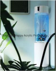 Venda Direta de fábrica de vidro aquário de vidro do tanque de peixes de aquário de vidro acrílico Aquário tanque cilíndrico tanque circular de acrílico