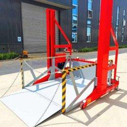 Contenedor móvil plataforma de carga de bienes /Rampa de carga de la plataforma de elevación 2.2ton certificado CE con ISO9001