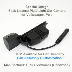 動きの検出のフォルクスワーゲンのポロGp/の雪男(予備タイヤ)モデルのための小型隠された背面図のカメラの/Carのカメラのバックアップカメラ