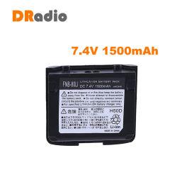 7.4V 1500mAh Batterie Li-ion de remplacement Fnb-80li la communication radio bidirectionnelle pour Vertex Yaesu Vx-5R-6R Vx Vx-7R VXA-700 VXA-710