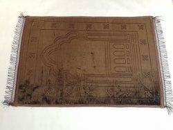 세케이드 게베스테비치 이슬람 80 * 120cm 사자다 모스크 기도자 카펫 이슬람 기도 메모리 양식 도매 기도 카펫