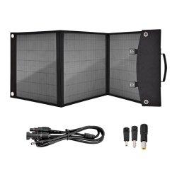 Zweck-bewegliche Solarlaptop-Aufladeeinheits-faltbare Sonnenkollektor-Aufladeeinheit der Sonnenenergie-Bank-60W multi für iPhone
