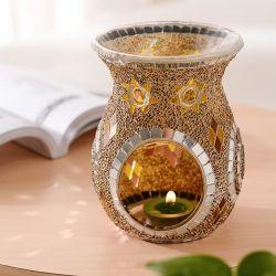Handgemaakt Turks glas Mozaïek Kaarhouder Kaarsenpot