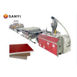 온라인 자동 패턴 라미네이션 PVC 장식 보드 메이킹 머신
