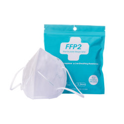 Máscara de sub-KN95 FFP2 Face EPI bata descartável Facial respirador de partículas de poeira Máscara facial
