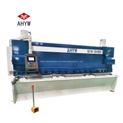 Ywgs 13X4000 4м длины листа с ЧПУ Guillotine деформации машины инструментальной плиты