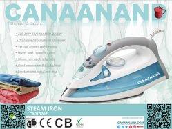 Canaanand - Dampfbügeleisen trocken/Spray/Dampf/Dampfstoß/Vertikaldampf/selbstreinigende elektrische Werkzeug