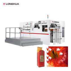 Puzzle Thick Paper Verwendung Automatische Prägung Hot Press Sterben Schneideschneider Rillmaschine