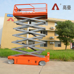 Elevador de tesoura para venda elevar a plataforma de trabalho Trabalho aéreo Platform