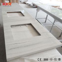 Assoupli le bord de la pierre artificielle couper un comptoir/Couper à la taille des comptoirs en acrylique