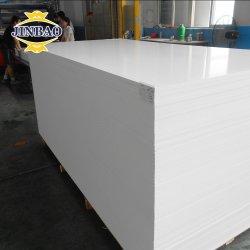 Jinbao 3mm 18mm UV Foamex Prijs Plastic PVC Forex vrij PVC-blad schuimplaat