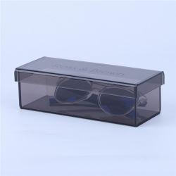 Caso di visualizzazione acrilico del monocolo di piano d'appoggio, Eyewear di plastica/caso Sunglass di vetro