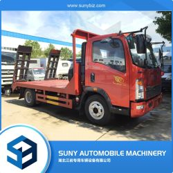 Sinotruk HOWO Euro3 120HP 4-6tonnes camion à plateau Hot Sale